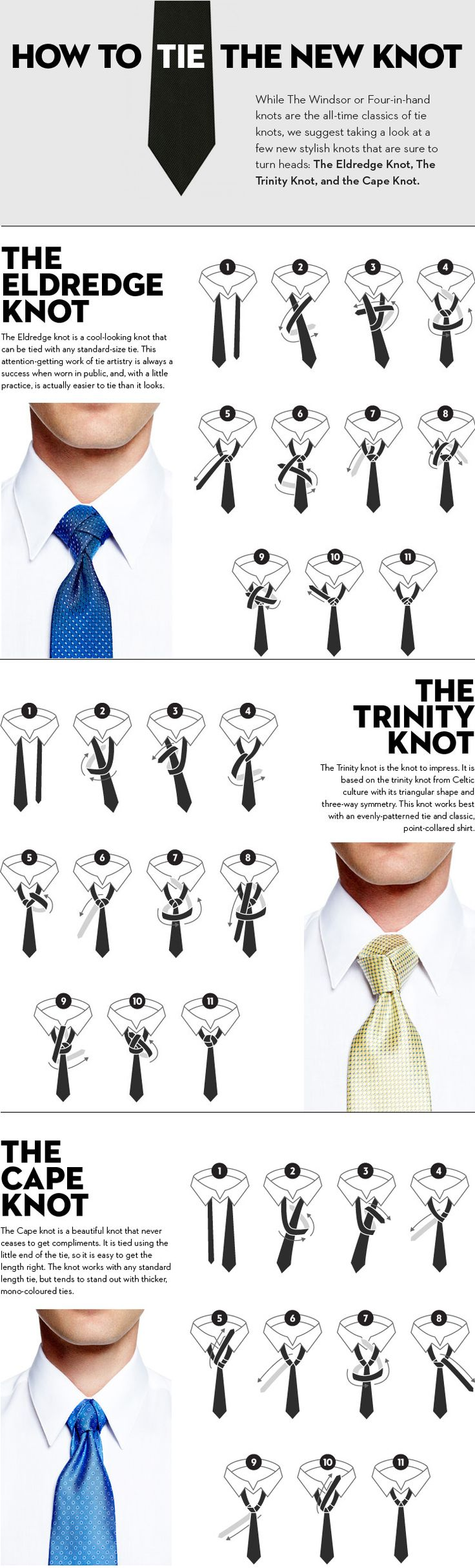 How To Tie A Knot Mrwithstyle Tying Diagram